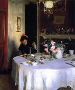 The Breakfast Table (Violet Sargent)