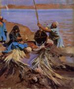 Egyptians Raising Water from the Nile