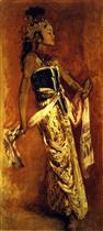 A Javanese Dancer 1889
