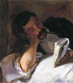 A Man Reading (Nicola Reading)