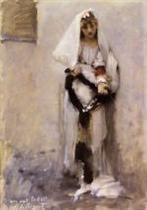 A Parisian Beggar Girl (Spanish Beggar Girl)