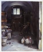 Pressing the Grapes: Florentine Wine Cellar
