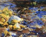 Reflections: Rocks and Water