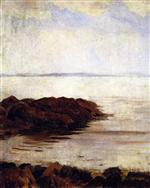 Seascape with Rocks (Sea and Rock)