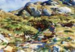 Simplon Pass: Mountain Brook