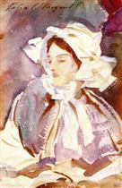 Young Woman in a Bonnet