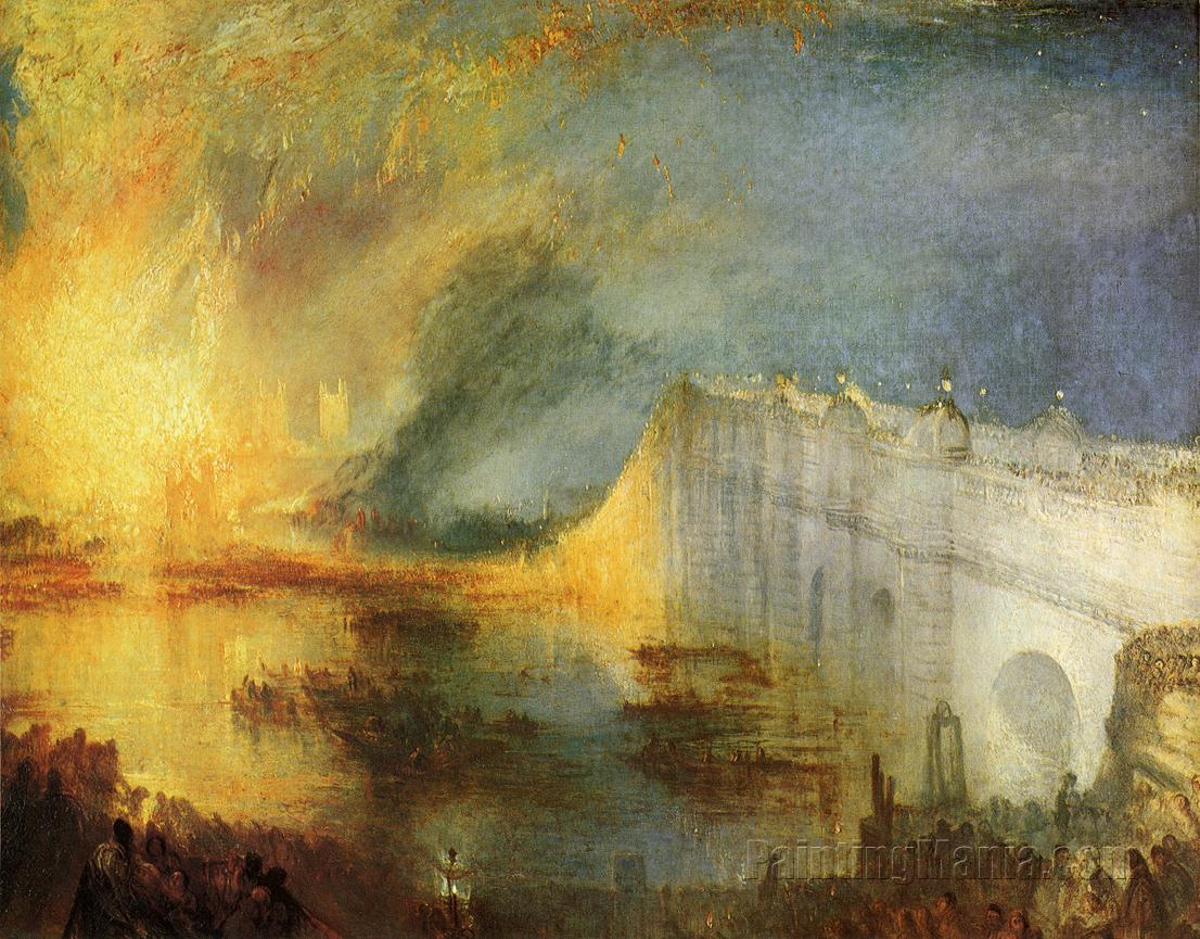 The Burning of the House of Lords and Commons, 16th October, 1834