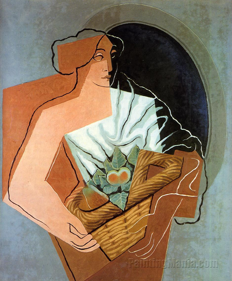 Woman With Basket