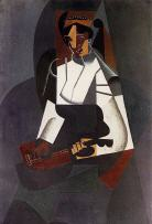 Woman with a Mandolin (after Corot)