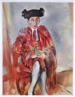 Alfred Flechtheim Dresses as a Toreador