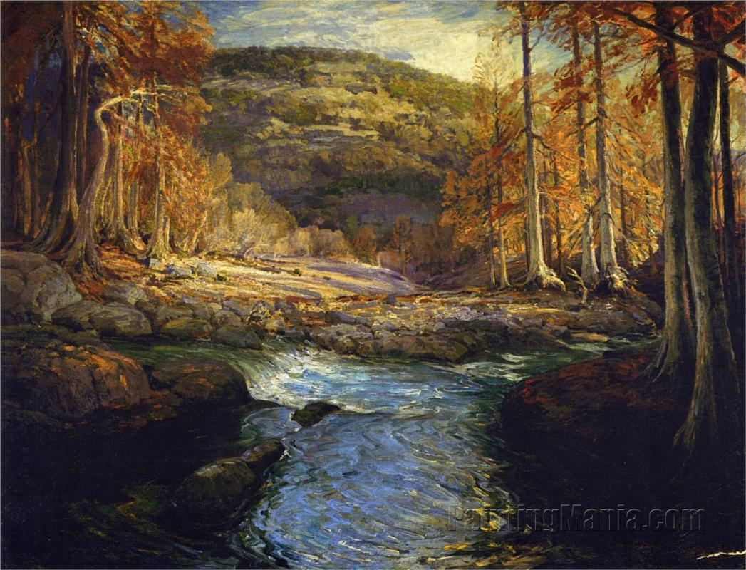 Forest Stream (Headwaters of the Guadalupe)