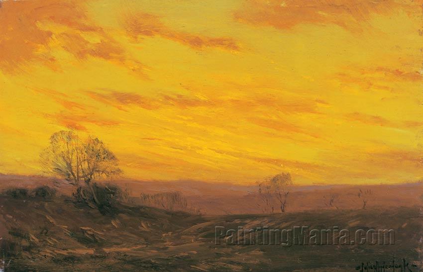 Golden Evening, Southwest Texas