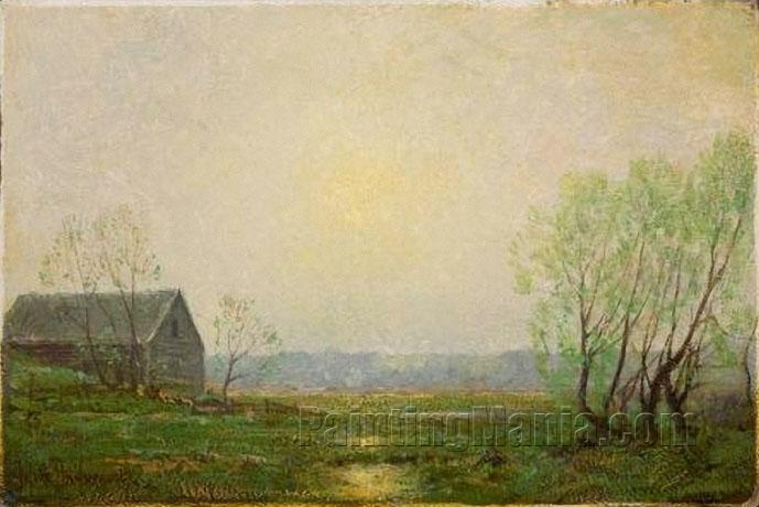 Landscape with Cabin