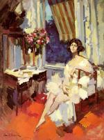 A Ballerina in Her Boudoir