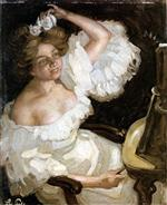 A Woman in Front of the Mirror