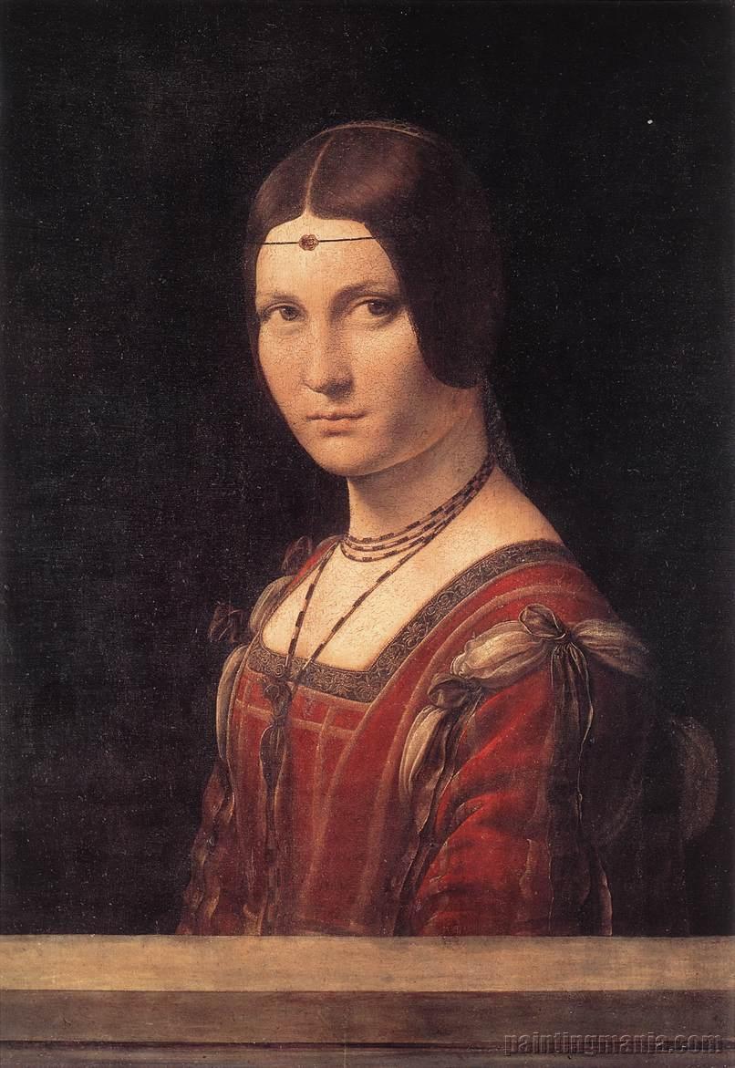 Portrait of an Unknown Woman (La Belle Ferroniere)