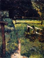 Gargenlichtung am Zaun