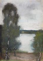 A lake in Mark Brandenburg