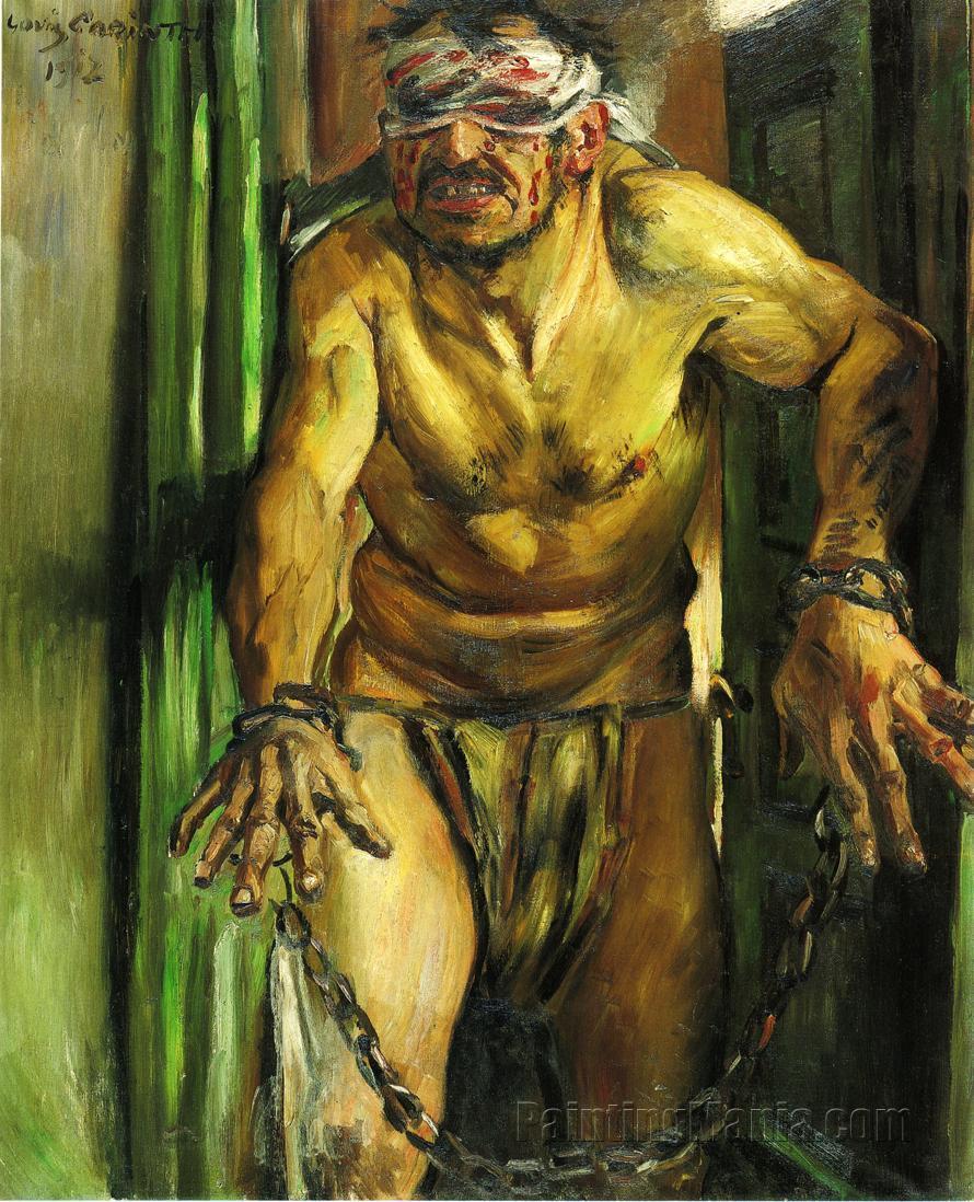 The Blinded Samson