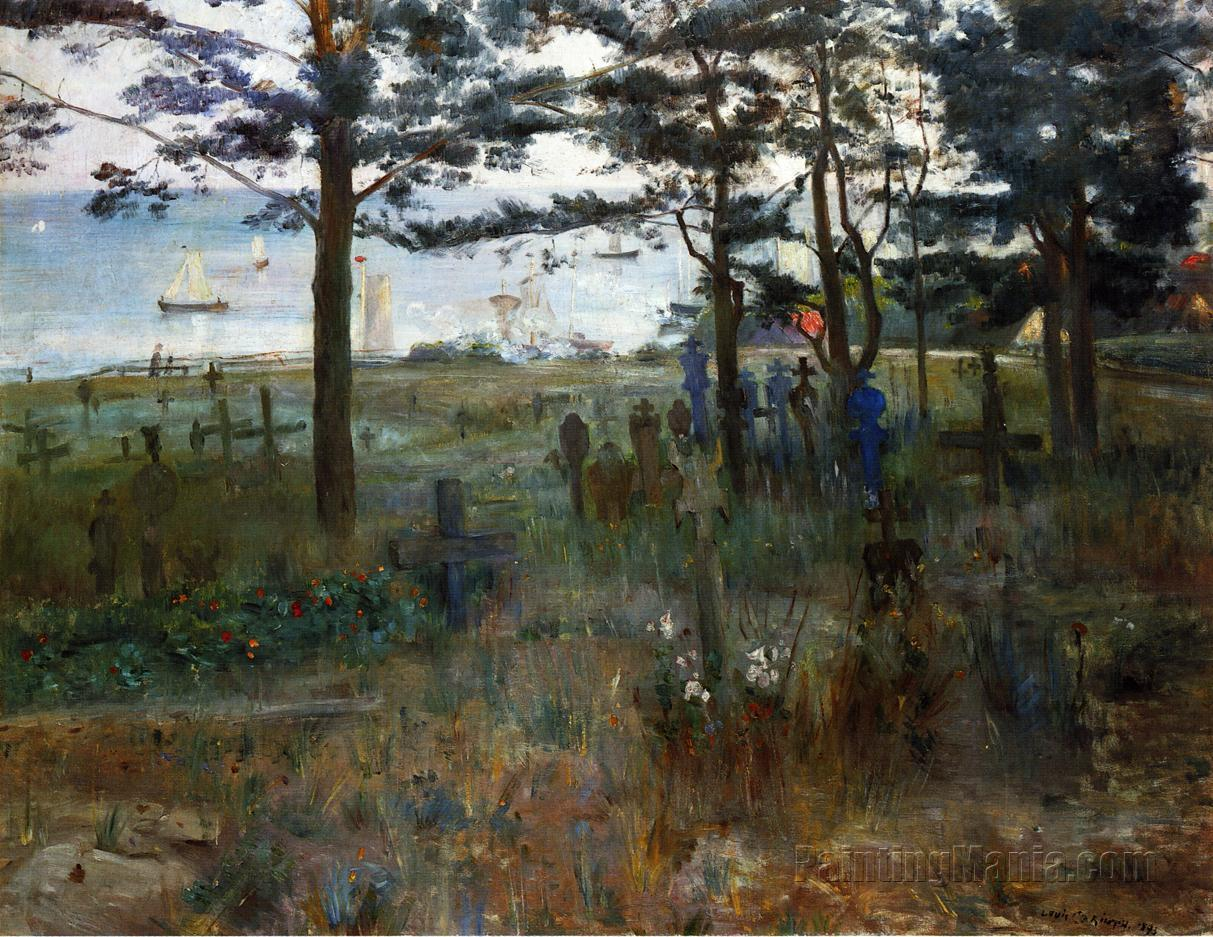 Fishermen's Cemetery at Nidden