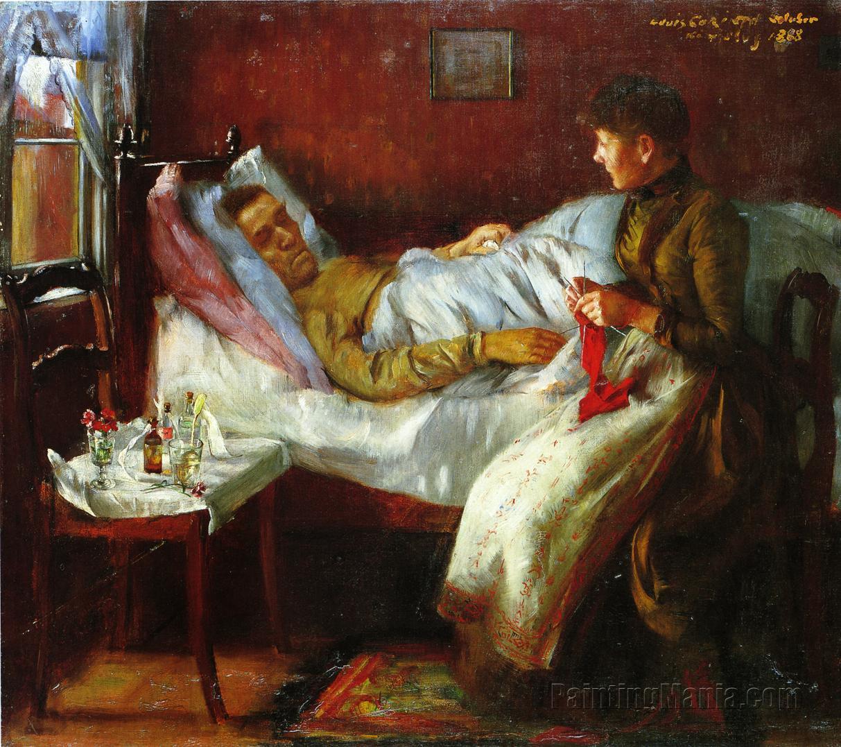 Franz Heinrich Corinth on His Sickbed