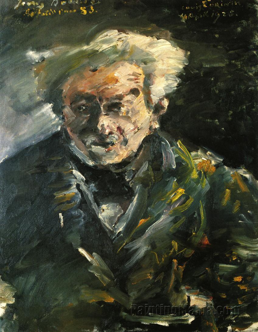 Portrait of Georg Brandes