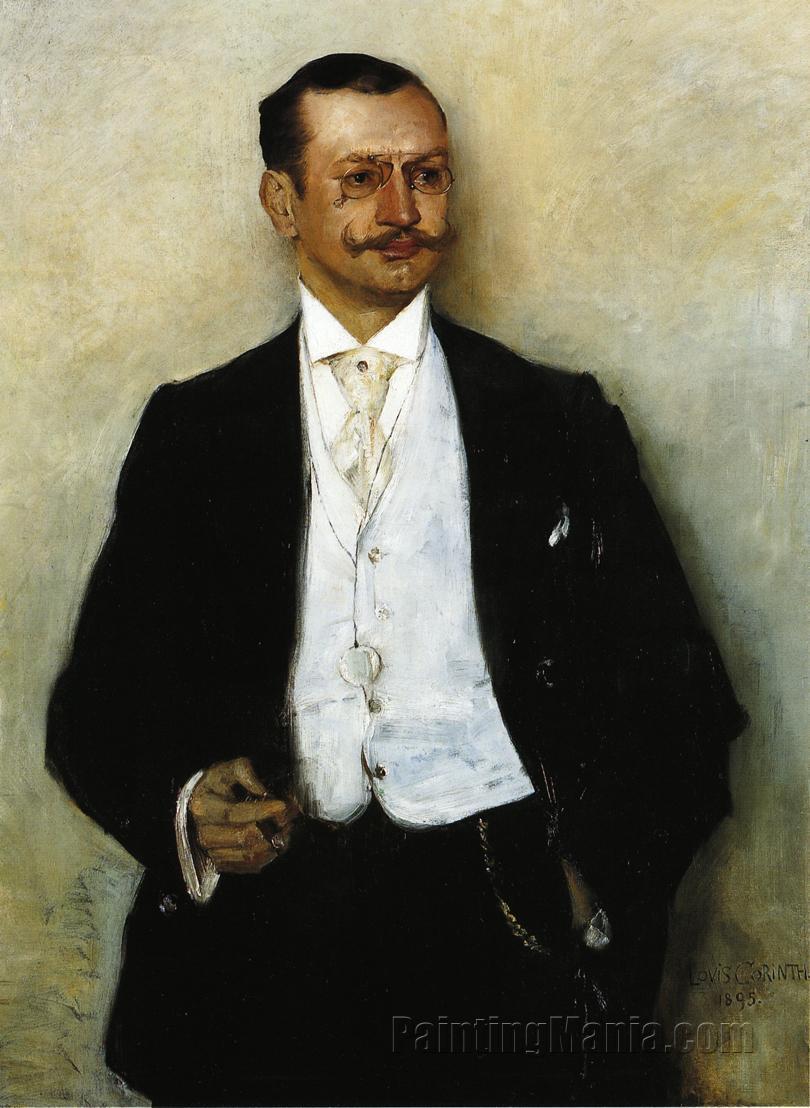Portrait of the Painter Karl Strathmann