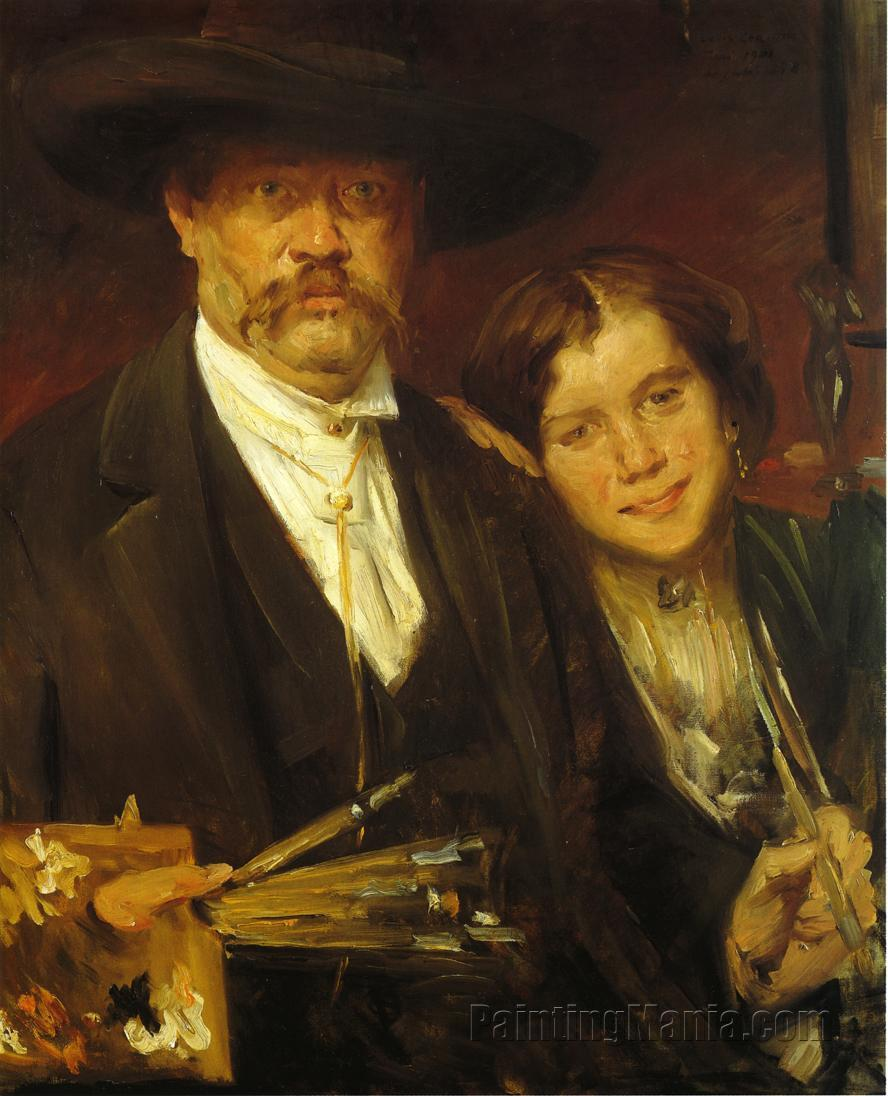 Self Portrait with Model 1901