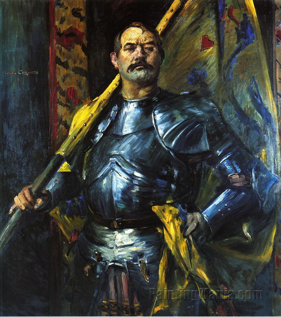 Self Portrait as Standard Bearer