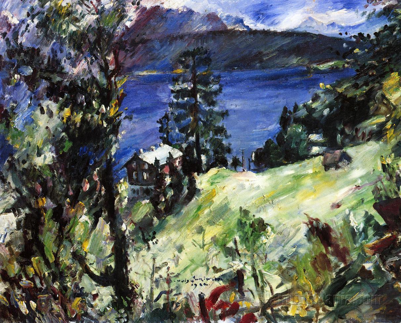 Walchensee Landscape