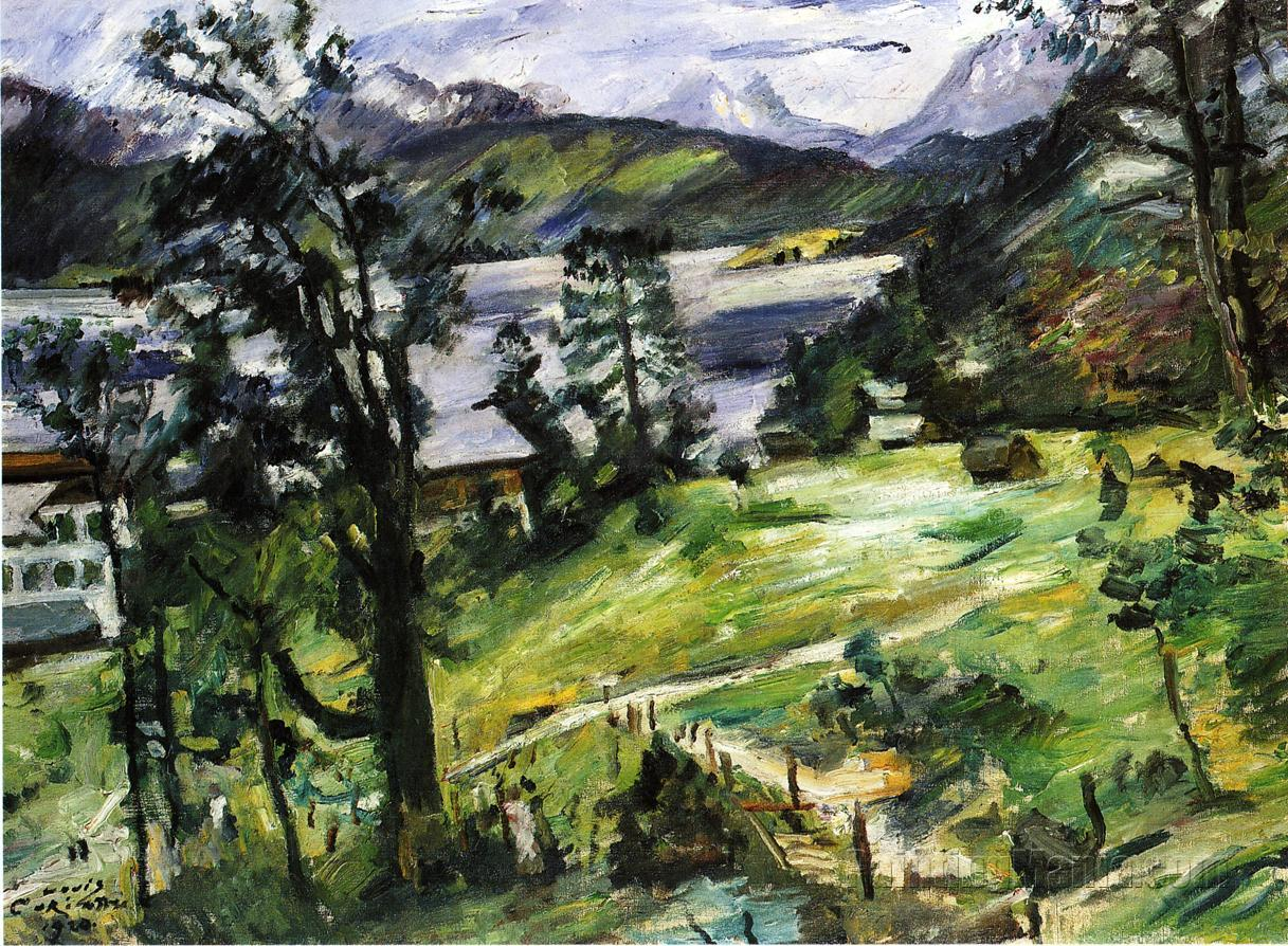 Walchensee Landscape with a Larch
