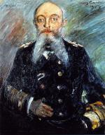 Portrait of Admiral Alfred von Tirpitz