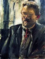 Portrait of Max Halbe