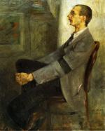 Portrait of the Painter Walter Leistikow