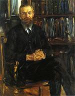 Portrait of Professor Eduard Meyer