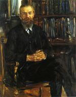 Portrait of Professor Eduard Meyer