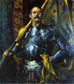 Self Portrait as Standard Bearer