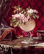Still Life with Apple Blossoms in a Nautilus Shell 2