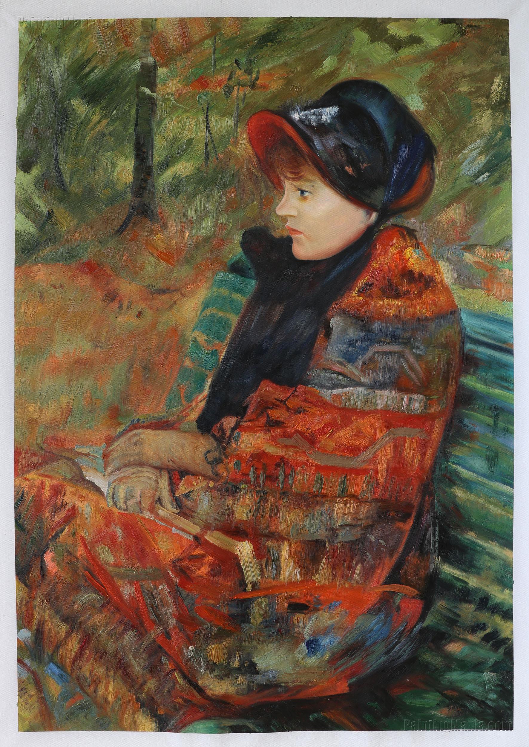 Autumn (Profile of Lydia Cassatt)