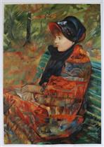 Autumn (Profile of Lydia Cassatt)