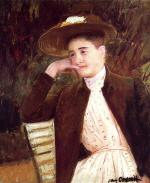 Celeste in a Brown Hat