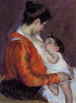Louise Nursing Her Child
