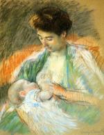 Mother Rose Nursing Her Child