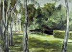 The Birch Grove in the Wannsee Garden facing West