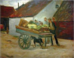Vegetable and Dog Cart