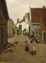 A View of a Street in Zandvoort