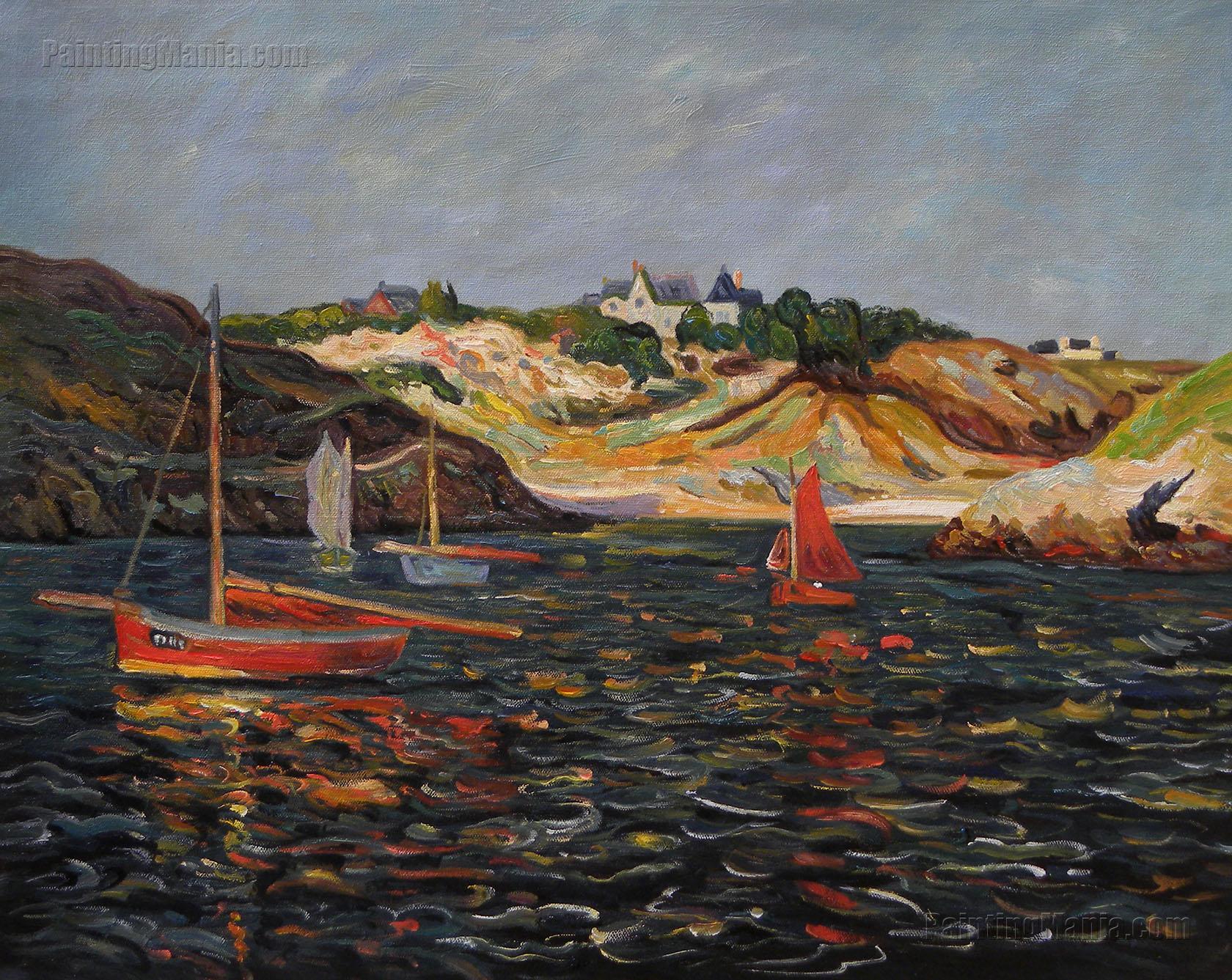 The Heart of the Port of Goulphar, Belle-Ile en Mer