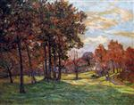 Autumn Landscape at Goulazon. Finistere