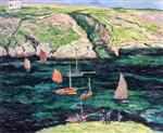 Boats at Port-Goulphar, Belle-Ile en Mer