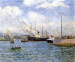Departure of a Transport at Le Havre
